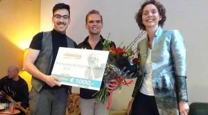 Uitreiking Humanistische prijs Haaglanden, 30 maart 2019 aan muziekschool 1001 nachten.