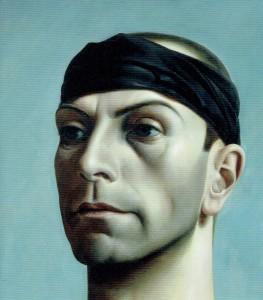 Pyke Koch, zelfportret met zwarte band, 1937, Centraal Museum Utrecht