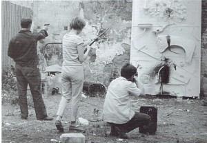Niki de Saint Phalle, Schiethappeling, begin jaren zestig