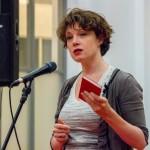 Valentijnsavond 14 februari 2014, Pauline Greidanus leest voor uit voorlichtingsboekje uit de 19de eeuw